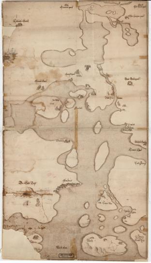 Nedenes amt nr 1: Kart over Arondall og Omegn