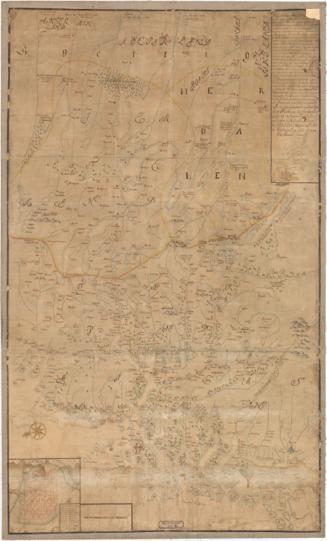 Norge 10: Kart over Trondhjems Len samt Dele af Jemteland og Herjedalen
