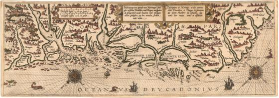 Museumskart 166: Kysten fra Trondhjem til Bergen