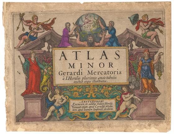 Museumskart 159: Atlasillustrasjon