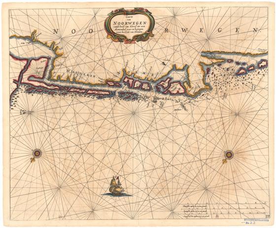 "Museumskart 174: Fra ""Hoeck van Horrel til Momendal"""