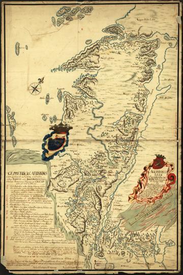 Norge 2: Aggershuus Leen Saaledes som det 1661 ved Commisarier er bleven delt